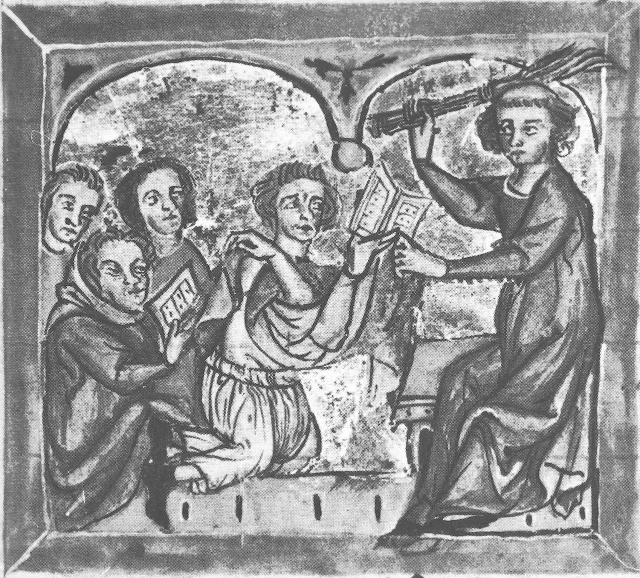 Citaten Uit De Middeleeuwen : Onderwijsgeschiedenis beelden van het onderwijs vóór