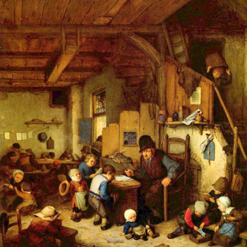 Onderwijsgeschiedenis - Onderwijs en opvoeding in de 18e eeuw