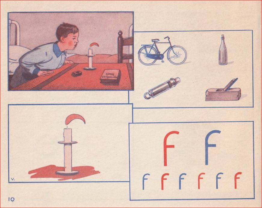 Levende letters - f